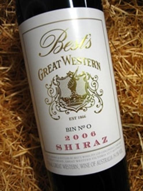 Best's Great Western Bin 0 Shiraz 2009