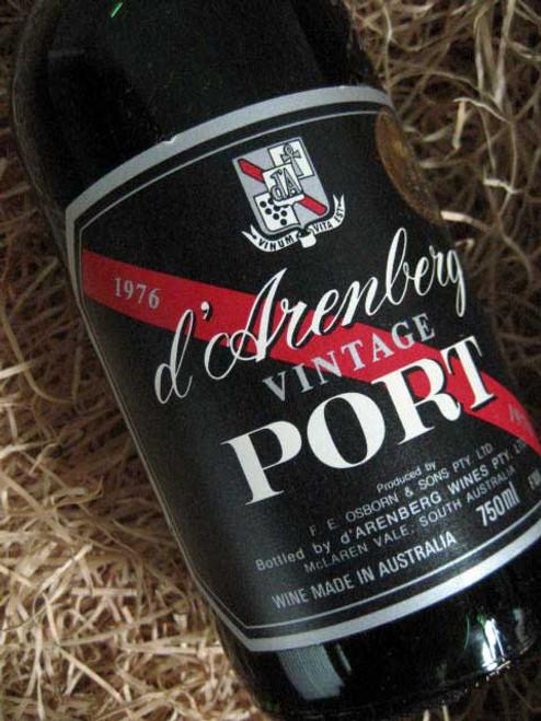 d'Arenberg Vintage Port 1976