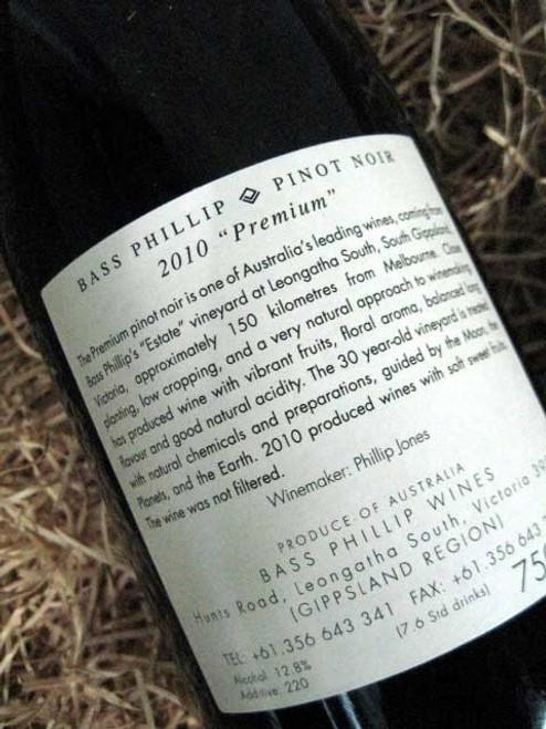 Bass Phillip Premium Pinot Noir 2010