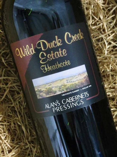 [SOLD-OUT] Wild Duck Creek Alan's Cabernet Sauvignon 2000 1500mL-Magnum