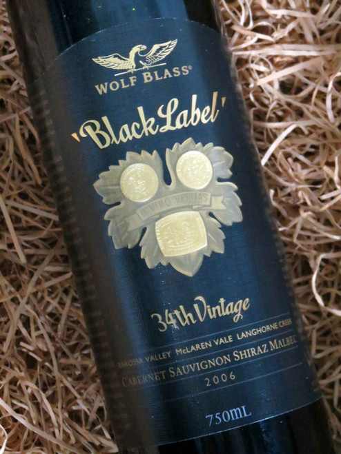 [SOLD-OUT] Wolf Blass Black Label 2006