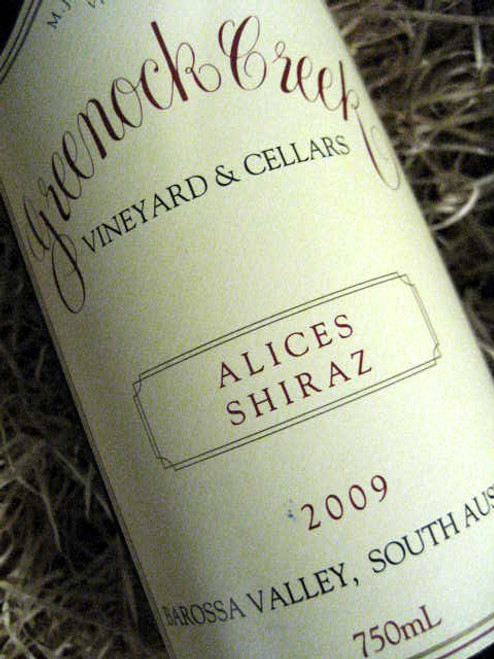 Greenock Creek Alices Shiraz 2009