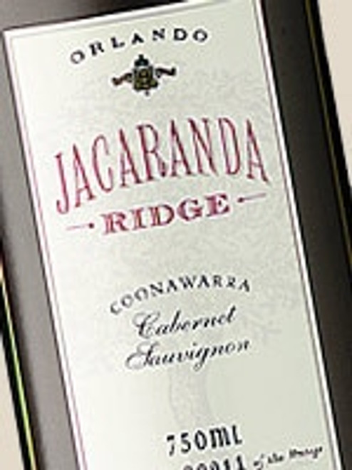 Orlando Jacaranda Ridge Cabernet Sauvignon 1996
