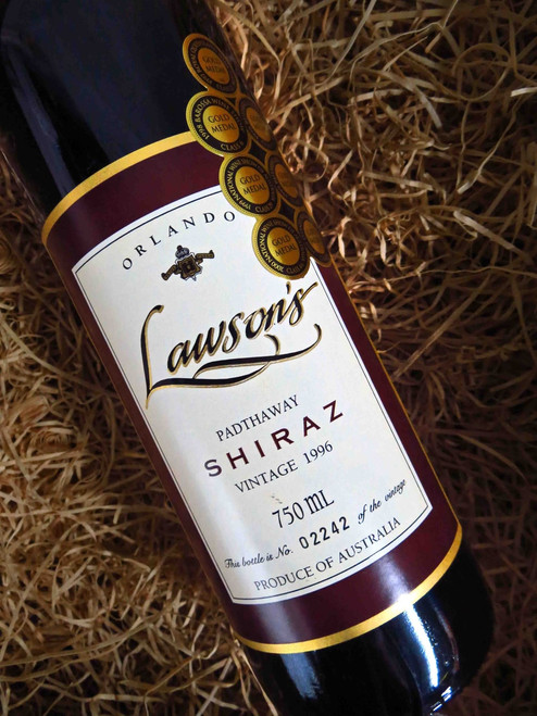 [SOLD-OUT] Orlando Lawson's Shiraz 1996