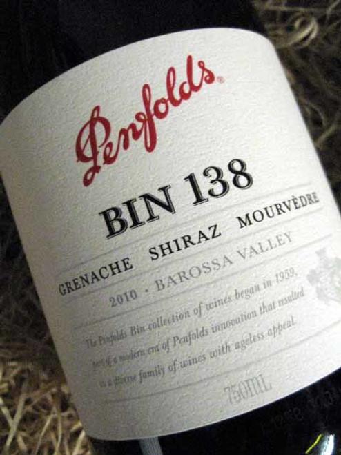 Penfolds Bin 138 2010
