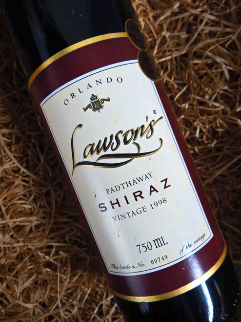 [SOLD-OUT] Orlando Lawson's Shiraz 1998