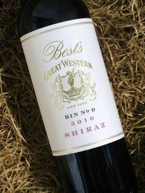 [SOLD-OUT] Best's Great Western Bin 0 Shiraz 2010