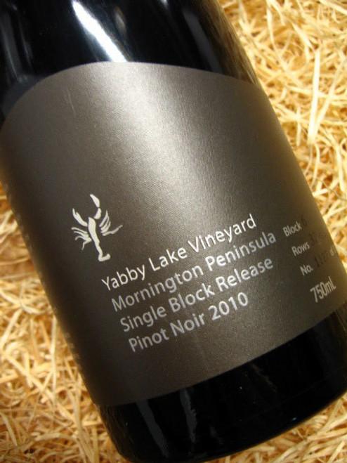 Yabby Lake Block 2 Pinot Noir 2010