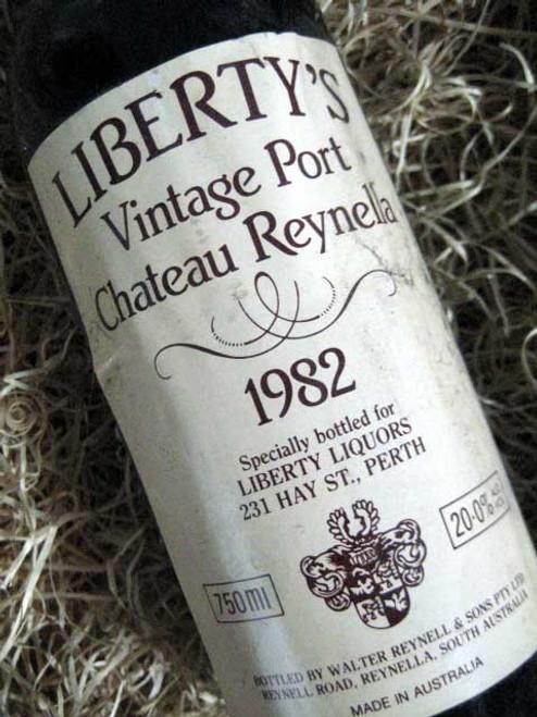 Chateau Reynella Vintage Port 1982 (Liberty Liquors)