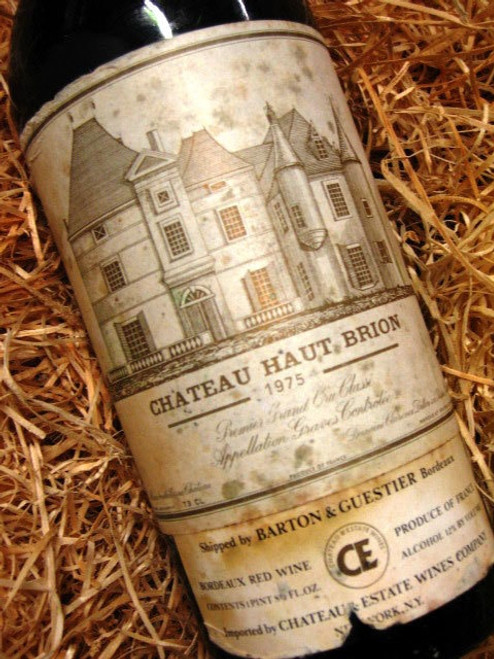 Chateau Haut Brion 1975 (Minor Damaged Label)