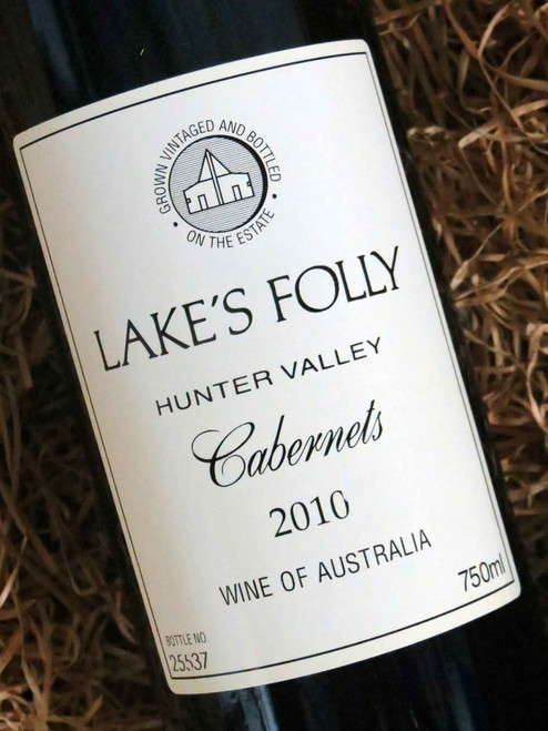 [SOLD-OUT] Lake's Folly White Label Cabernets 2010