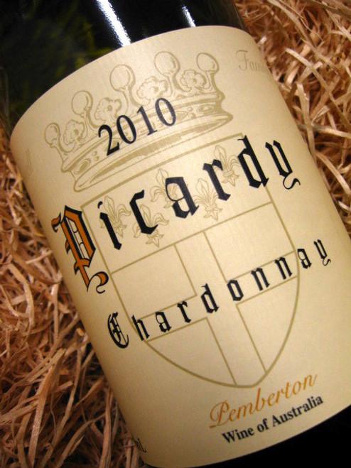 [SOLD-OUT] Picardy Pemberton Chardonnay 2010