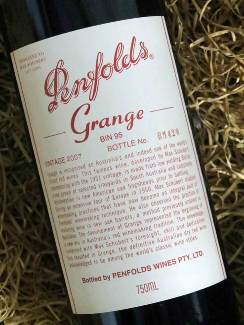 [SOLD-OUT] Penfolds Grange 2007