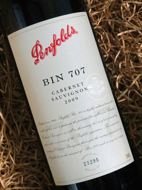 [SOLD-OUT] Penfolds Bin 707 2009 (Minor Damaged Label)