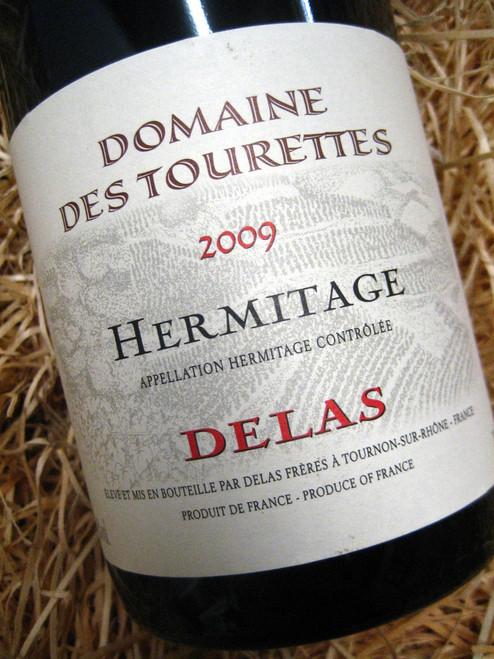 Delas Hermitage Domaine des Tourettes Rouge 2009
