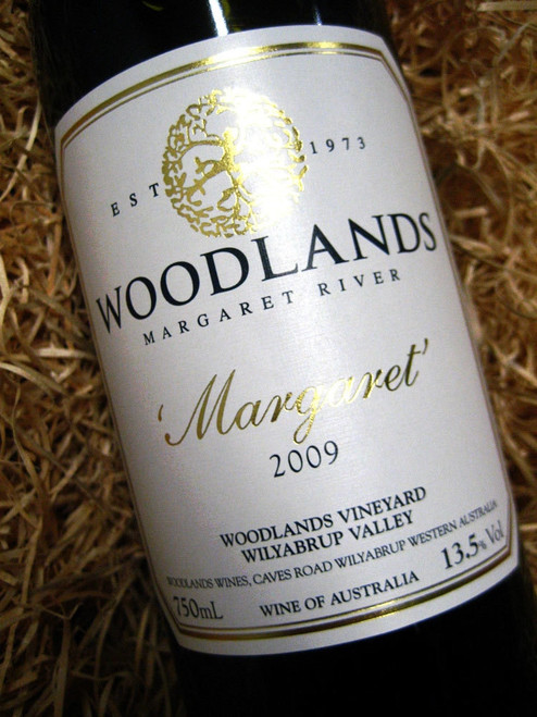 Woodlands Margaret Reserve Cabernet Merlot 2009