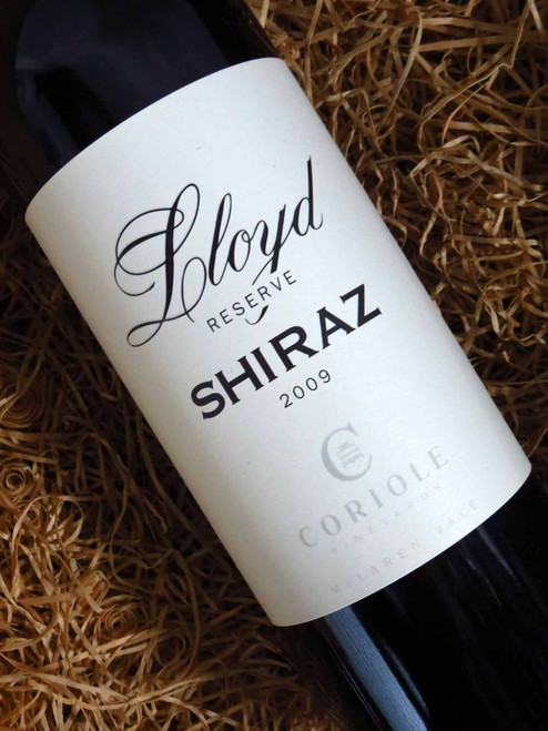 [SOLD-OUT] Coriole Lloyd Reserve Shiraz 2009