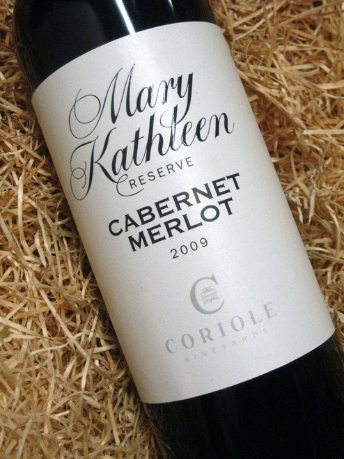 Coriole Mary Kathleen Reserve Cabernet Merlot 2009