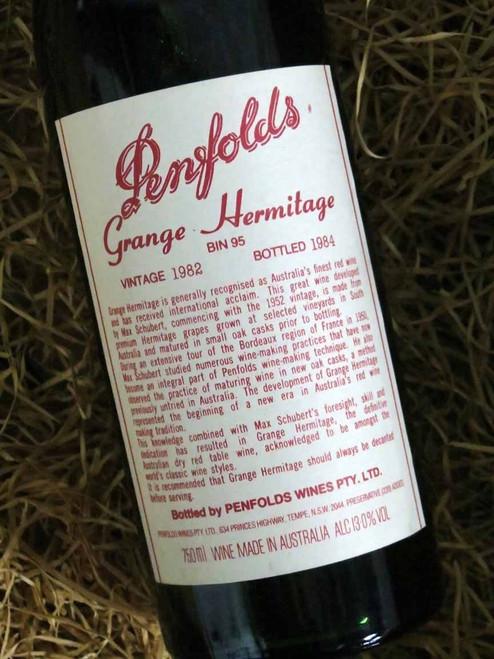 [SOLD-OUT] Penfolds Grange 1982 (Very High Shoulder Level)