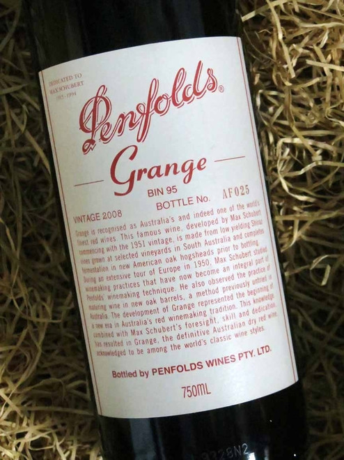 [SOLD-OUT] Penfolds Grange 2008