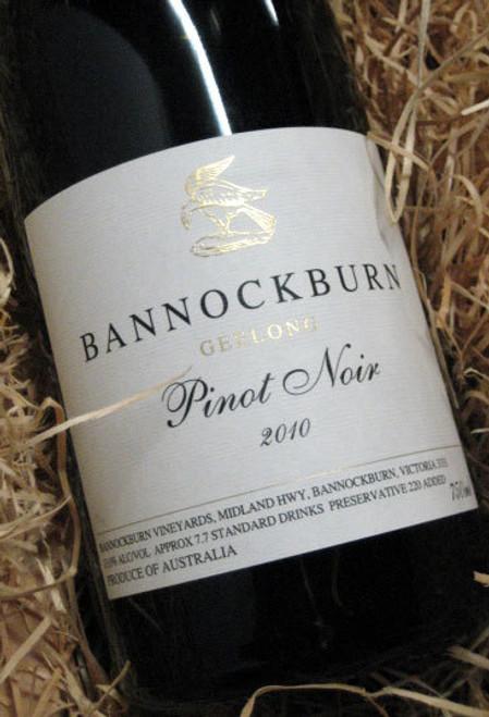 Bannockburn Pinot Noir 2010