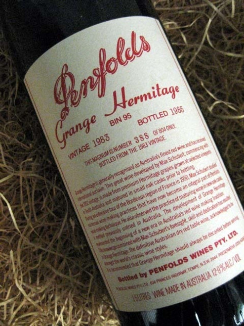 Penfolds Grange 1983 1500mL