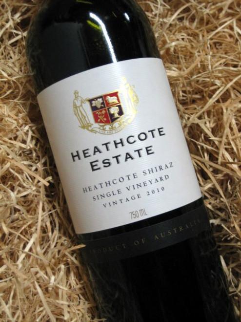 Heathcote Estate Shiraz 2010