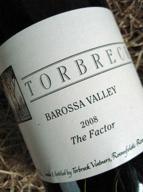 [SOLD-OUT] Torbreck The Factor Shiraz 2008