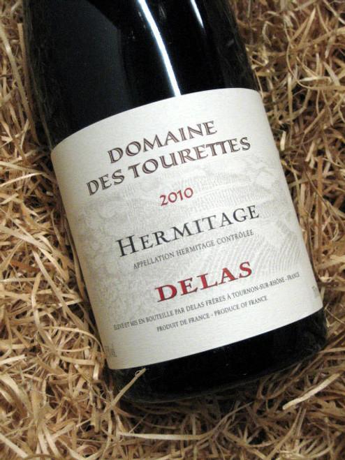 Delas Hermitage Domaine des Tourettes Rouge 2010