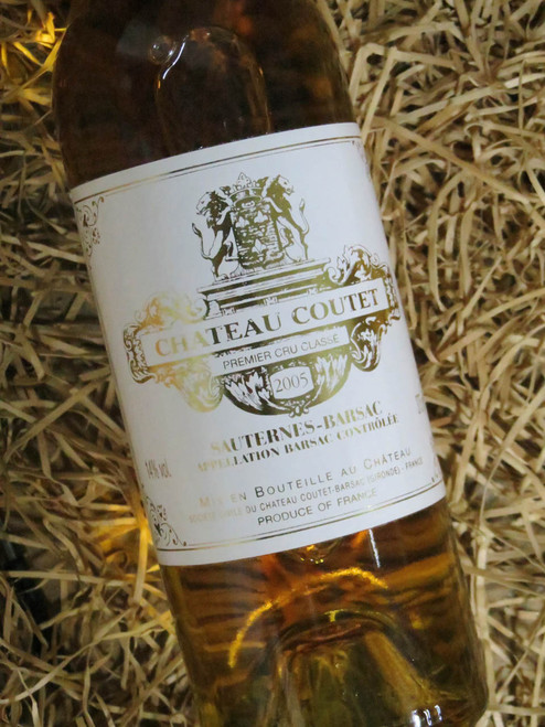 [SOLD-OUT] Chateau Coutet Barsac 2005 375mL-Half-Bottle