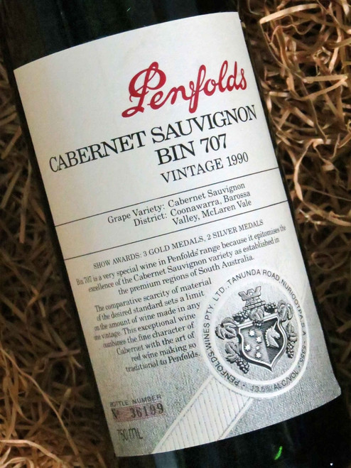 [SOLD-OUT] Penfolds Bin 707 1990