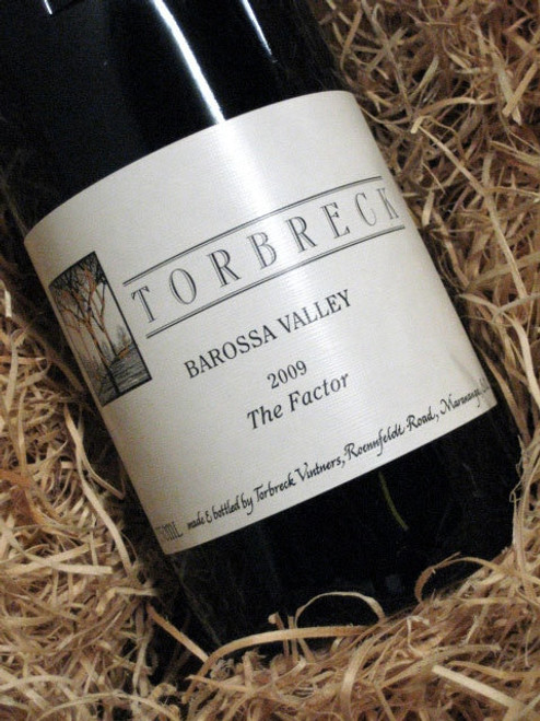 [SOLD-OUT] Torbreck The Factor Shiraz 2009