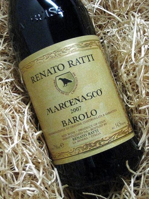 Renato Ratti Barolo Marcenasco 2007