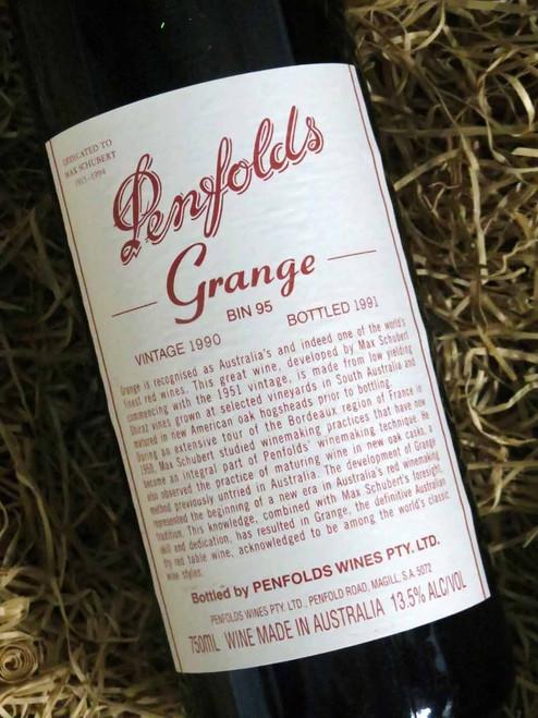 [SOLD-OUT] Penfolds Grange 1990 (Minor Damaged Label)