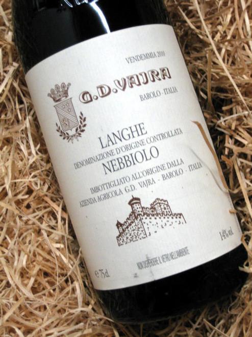 G.D. Vajra Langhe Nebbiolo 2010