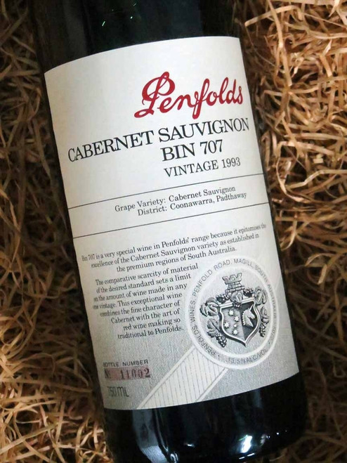 [SOLD-OUT] Penfolds Bin 707 1993