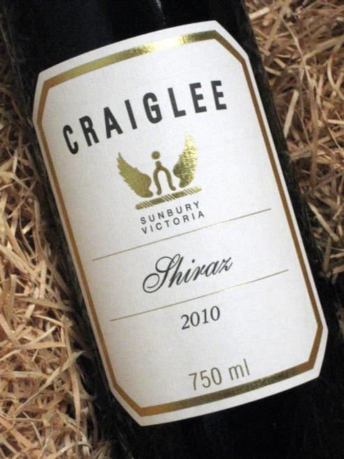 Craiglee Shiraz 2010