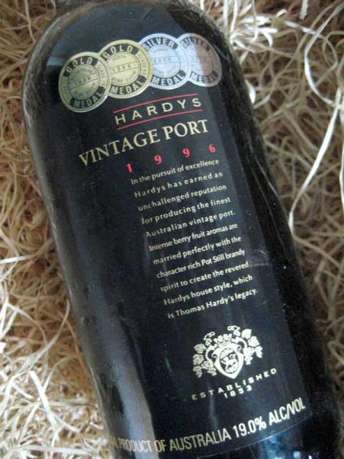 Hardys Vintage Port 1996