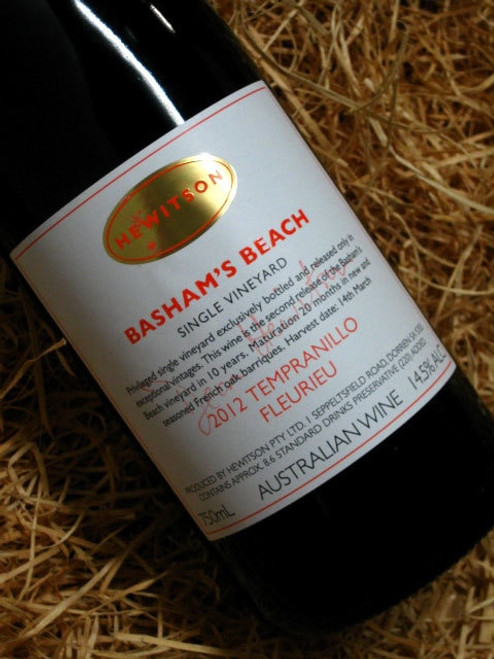 [SOLD-OUT] Hewitson Basham's Beach Tempranillo 2012