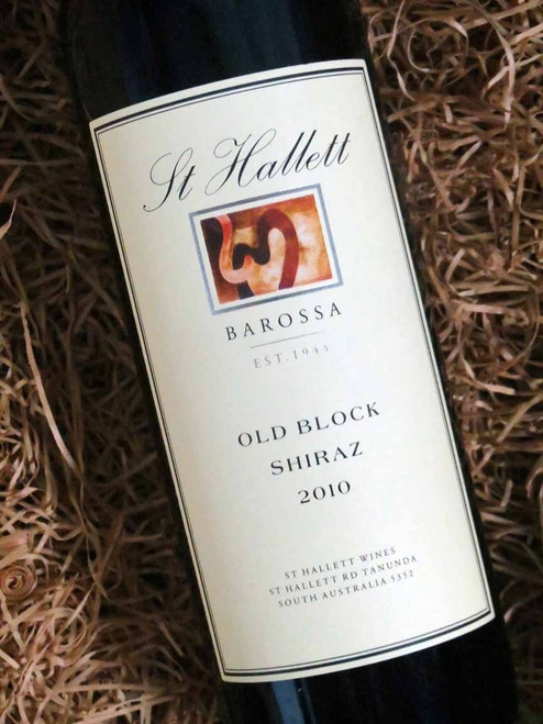 [SOLD-OUT] St Hallett Old Block Shiraz 2010