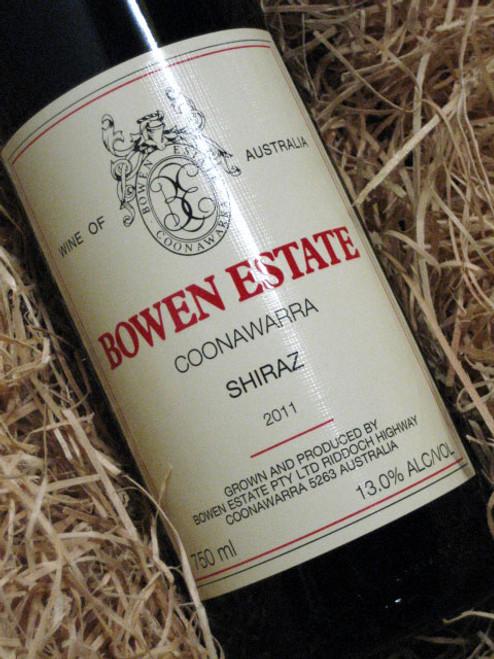 Bowen Estate Shiraz 2011