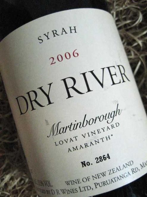 Dry River Lovat Syrah 2006