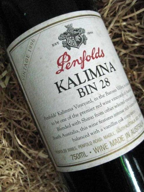 Penfolds Bin 28 1996 (Minor Damaged Label)