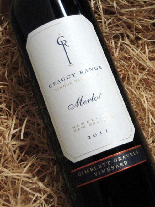 Craggy Range Gimblett Merlot 2011