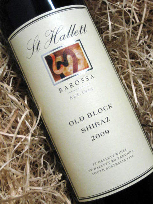 St Hallett Old Block Shiraz 2009
