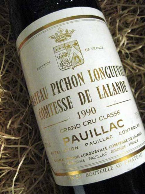 Chateau Pichon Longueville Comtesse De Lalande  1990