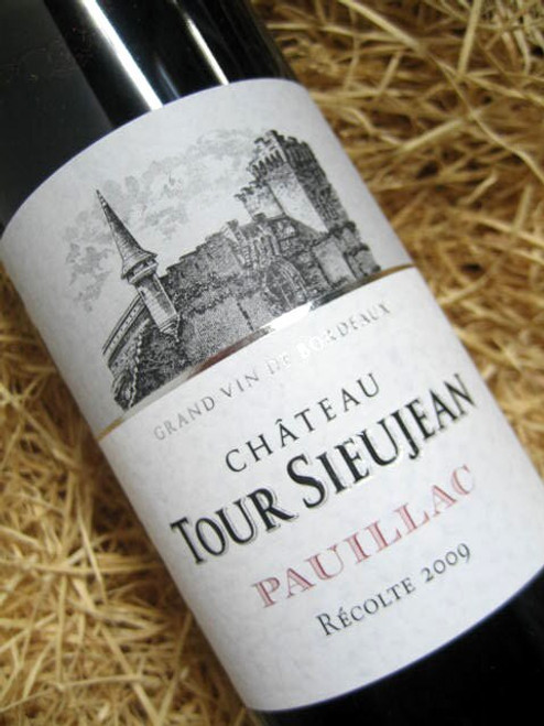[SOLD-OUT] Chateau Tour-Sieujean Pauillac 2009