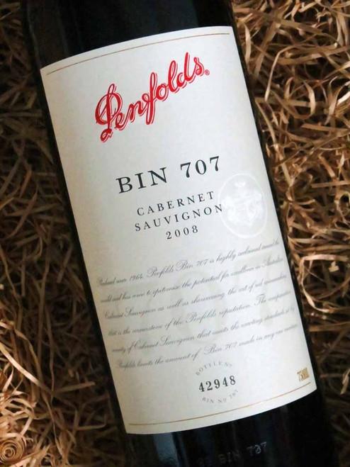 Penfolds Bin 707 2008