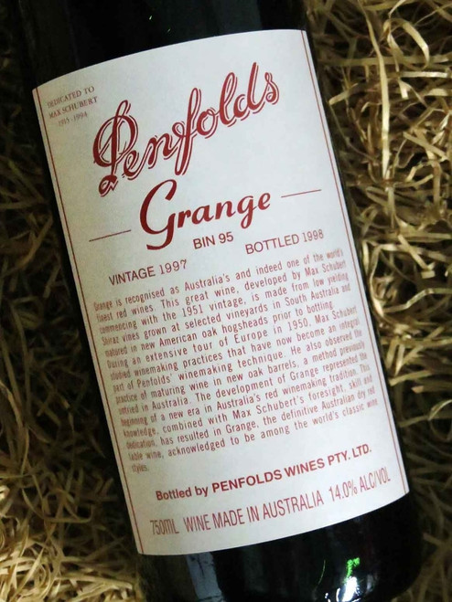 [SOLD-OUT] Penfolds Grange 1997
