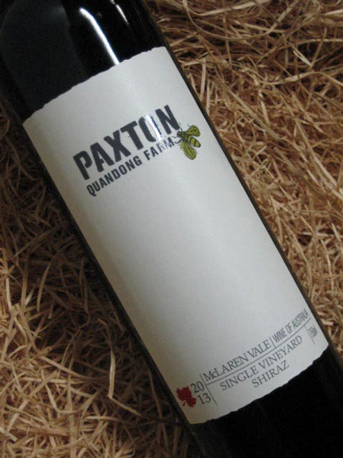 [SOLD-OUT] Paxton Quandong Farm Shiraz 2013